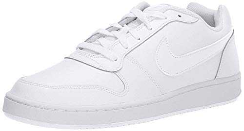 Nike Ebernon Low, Chaussures de Basketball Homme, Blanc (White 100), 42 EU