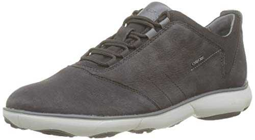 Geox U Nebula C, Baskets Basses Homme,Marron (Dk Coffee C6024) , 44 EU