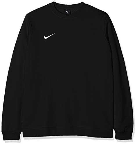Nike M Crew Fleece Team Club 19 Sweat-shirt Homme - AJ1466-010 - Noir/Blanc - FR : M (Taille Fabricant : M)
