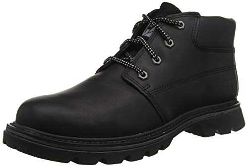 CAT Footwear Tribute, Chukka Boots Homme, Noir (Black Brown), 45 EU