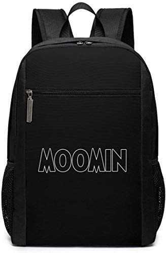 Sac à Dos de Voyage Cartable Moomin Falls in Love Comic Strip-2 Backpack Laptop Backpack School Bag Travel Backpack 17 inch