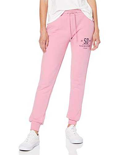 Superdry Track & Field Jogger Pantalon De Sport, Rose (Lis Pink P6X), 38 (Taille Fabricant: Small) Femme
