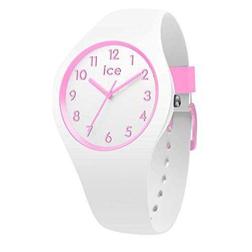 Ice-Watch - Ice Ola Kids Candy White - Montre Blanche pour Fille avec Bracelet en Silicone - 014426 (Small)