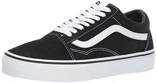 Vans U Old Skool, Basses Mixte adulte - Noir (Black/White), 38.5 EU