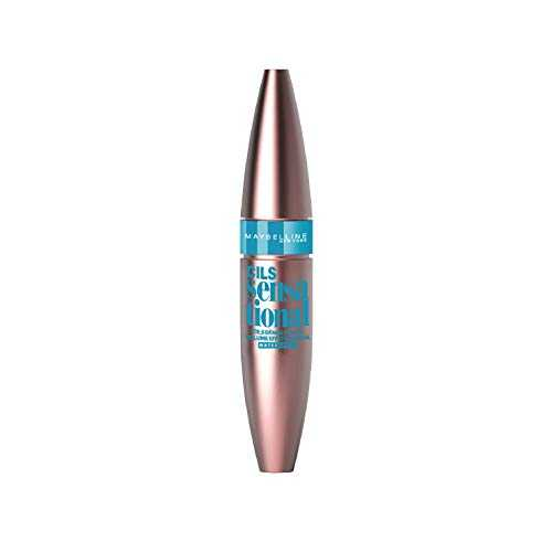 Maybelline New York - Mascara Volume Waterproof - Cils Sensational - Noir - 9,4 ml