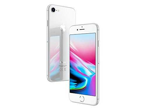 Apple iPhone 8 64Go Argent (Reconditionné)