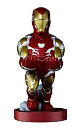 Figurine - Marvel Iron Man Cable Guy - Support Manette/Téléphone