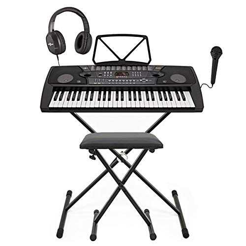 Pack Complet avec Clavier Portable MK-2000 a 54 touches par Gear4music