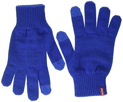 Levi's Ben Touch Screen Gloves Gants, Bleu (Royal Blue 19), Large (Taille Fabricant:Large) Homme
