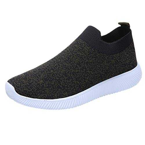 Sneakers Femmes Pas Cher ELECTRI Femme Lacet Chaussures Sport Walking Fitness Gym Gymnastique Hip Hop Casual Respirant Mesh Plate Sneakers Basket