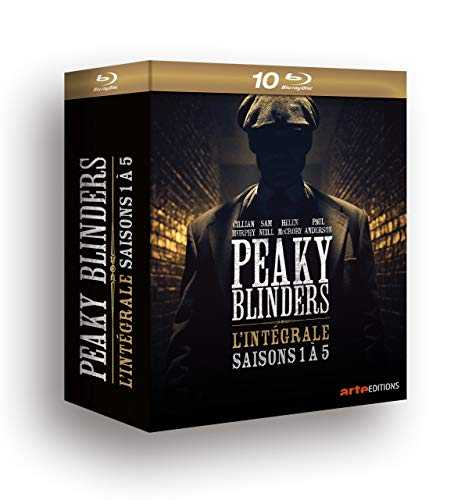 PEAKY BLINDERS SAISON 1 à 5 - 10 BR [Blu-ray]