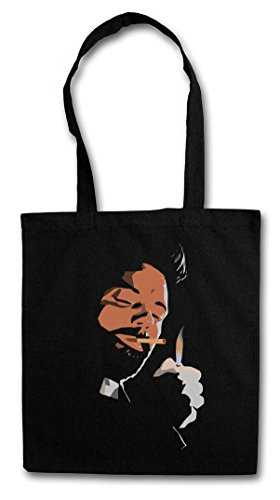 "Urban Backwoods Custer ""J"" Réutilisable Pochette Sac De Courses en Cotong– Jesse Comic Preacher Cassidy Custer Texas TV Series TV Garth Cassidy Kurt Eugene Tulip Preacher"