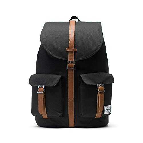 Herschel Supply Company SS16 Casual Daypack, 23.5 Liters, Black/ Tan