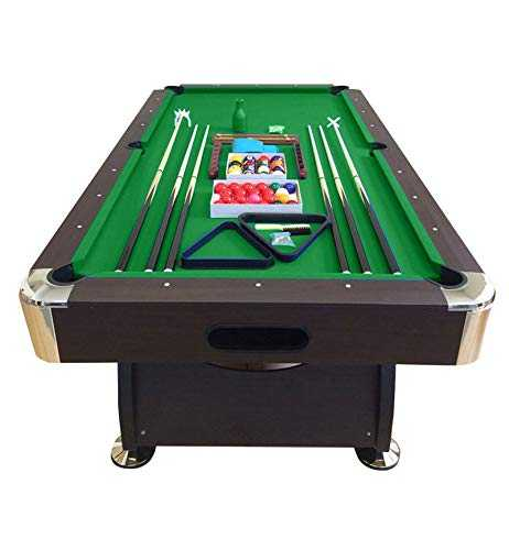 grafica ma.ro srl Billard AMERICAIN Neuf Table de Pool Snooker 8FT Vert 250cm Nouveau biljart Salon Jeux de Cafe