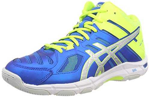 ASICS Gel-Beyond 5 MT, Chaussures de Volleyball Homme, Multicolore (Directoire Blue/Silver 400), 44.5 EU
