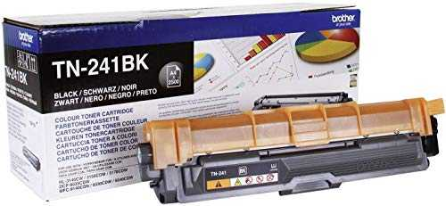 Brother TN-241BK | Cartouche de Toner Originale | Noir