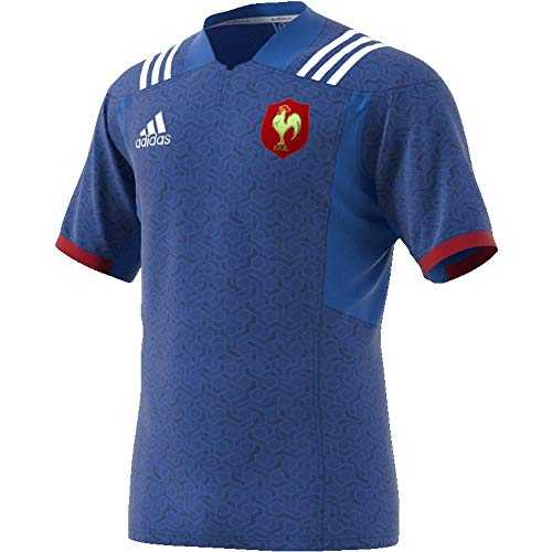 adidas BR3359 Maillot Homme, Bleu/Blanc/Powred, FR : M (Taille Fabricant : M)