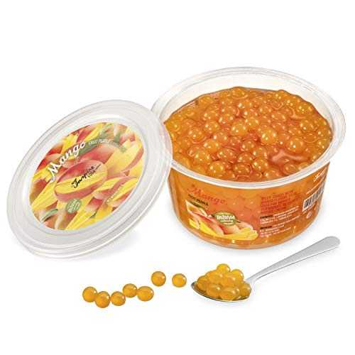 Popping Bobba Originale pour Bubble Tea - 450g - Mangue