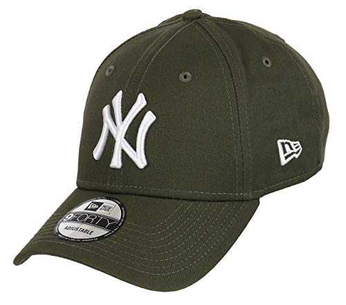 Unbekannt New Era 9Forty Strapback Casquette MLB Yankees de New York Plusieurs Couleurs - NY Nov/Blanc, OSFA (One Size Fits All)