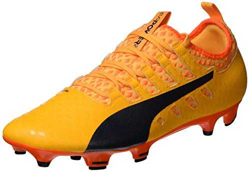 PUMA Evopower Vigor 2 FG, Chaussures de Football Homme, Orange (Ultra Yellow-Peacoat-Orange Clown Fish 04), 42.5 EU