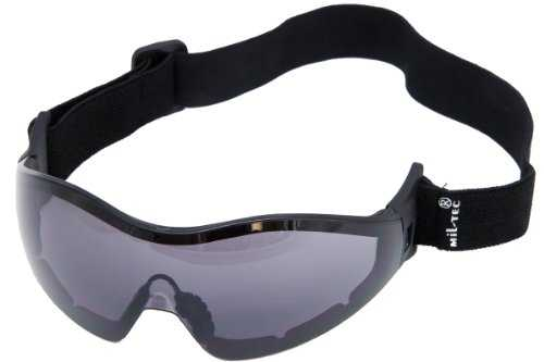 Masque Commando brille PARA - Smoke - Miltec