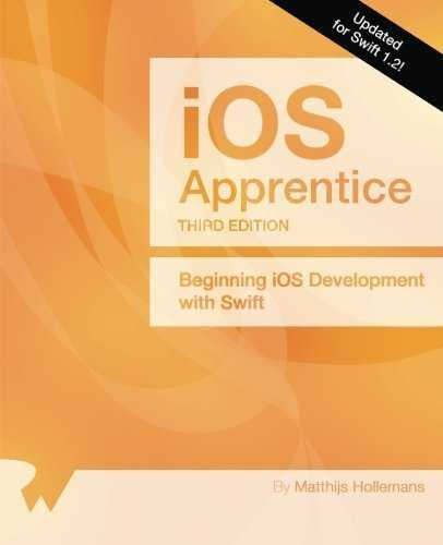 The iOS Apprentice Third Edition: Updated for Swift 1.2: Beginning iOS Development with Swift by Matthijs Hollemans (2015-04-15)