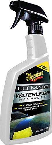 Meguiar's G3626EU Shampoing Sans Eau (Wash & Wax Anywhere), 768 ml