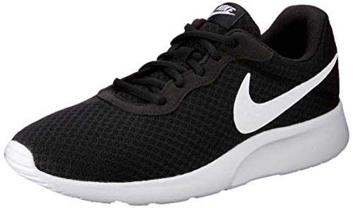 Nike Tanjun, Baskets Homme, Noir (Black/White 011), 41 EU