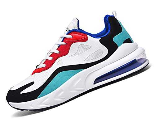 SINOES Femme Homme Running Baskets Chaussures Outdoor Running Gym Fitness Sport Sneakers Style Respirante Multicolore 47 EU