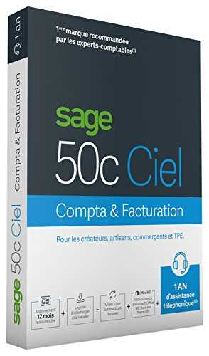 Sage 50c Compta+Facturation 1 An d'assistance