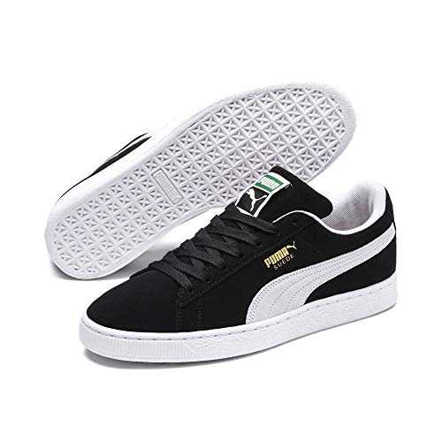 Puma - Suede Classic  - Baskets mode - Mixte Adulte - Noir (black-white) - 41 EU