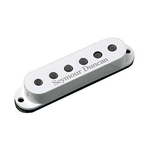Seymour Duncan SSL-6 Série simple Custom Flat Strat Micro pour Guitare Electrique Blanc