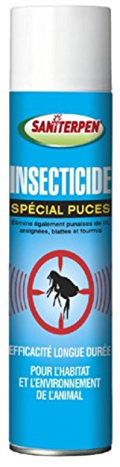 Saniterpen Antiparasitaire Aérosol Special Puces 400ml