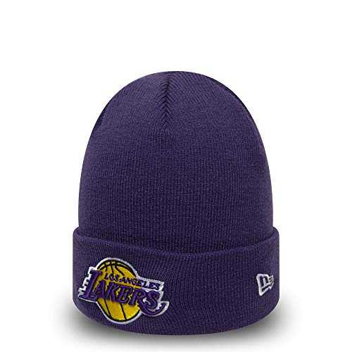 New Era Team Cuff Knit Los Angeles Lakers Bonnet