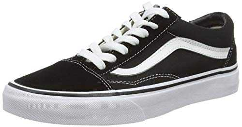 Vans U Old Skool, Basses Mixte adulte - Noir (Black/White), 43 EU
