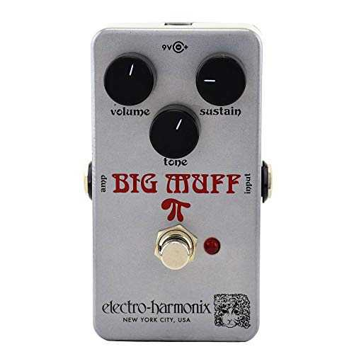 Electro Harmonix Ram's Head Big Muff Pi Distortion Fuzz Sustainer Pedal