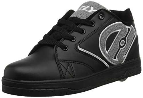 Heelys Chaussures de Fitness Homme, Multicolore (Black/Grey Terry Logo 000), 40.5 EU