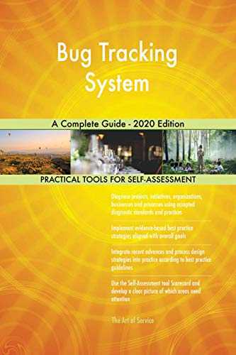 Bug Tracking System A Complete Guide - 2020 Edition (English Edition)