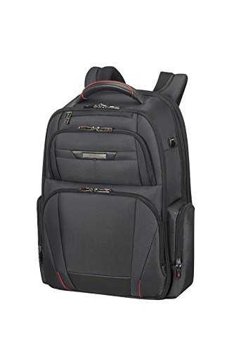 "SAMSONITE PRO-DLX 5 - Sac à dos Extensible 17.3"" Laptop - 29/34L, Noir"