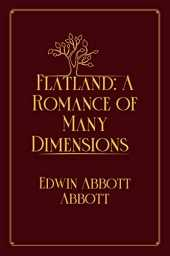 Flatland: A Romance of Many Dimensions: Red Premium Edition