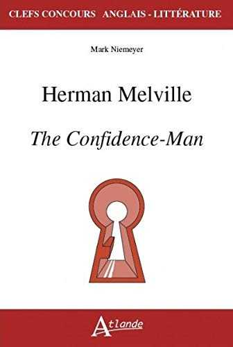 Herman Melville, The Confidence-Man