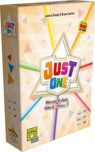 Asmodee- Just One, REPJO01FR, Jeu D'ambiance
