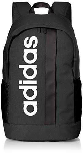 adidas Lin Core BP Sac à dos de sport Mixte Adulte, Black/Black/White, 55 cm