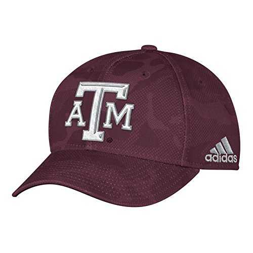 adidas Texas A&M Aggies Tonal Camo Hat Structured Cap