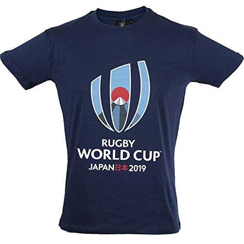 T-Shirt Coupe du Monde DE Rugby 2019 - Collection Officielle Rugby World Cup - Taille Homme XXL