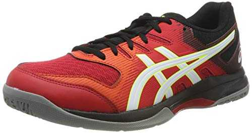 ASICS Gel-Rocket 9, Chaussures Multisport Indoor Homme, Rouge (Speed Red/White 600), 42.5 EU