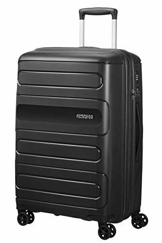 American Tourister Sunside Spinner 68 Extensible, 3.7 KG, 72.5/83.5L, Noir (Black)