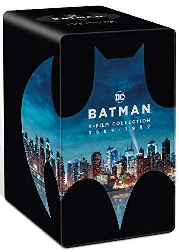 Batman-4 Films Collection 1989-1997 [4K Ultra HD + Blu-Ray]