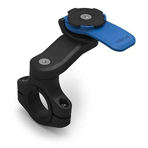 Quad Lock Moto Mount Support Smartphone, Noir, One Size