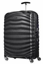 Samsonite Lite-Shock - Spinner L Valise, 75 cm, 98,5 L, Noir (Black)